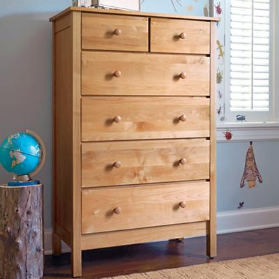 Simple 2-Over-4 Dresser (Natural)