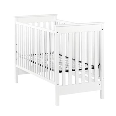 Straight Up Crib (White)