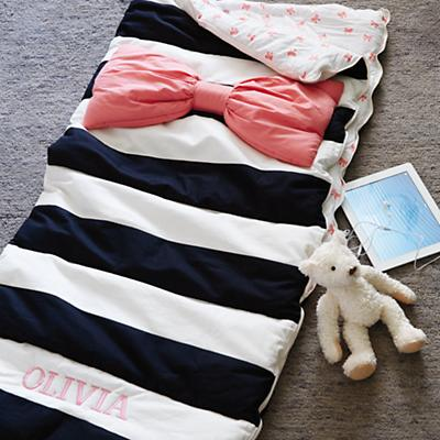 Candy Bow Sleeping Bag
