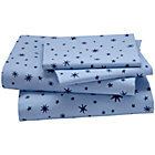 Full Stars Sheet SetIncludes fitted sheet, flat sheet and two pillowcases