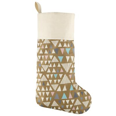Geometric Forest Stocking (Gold)