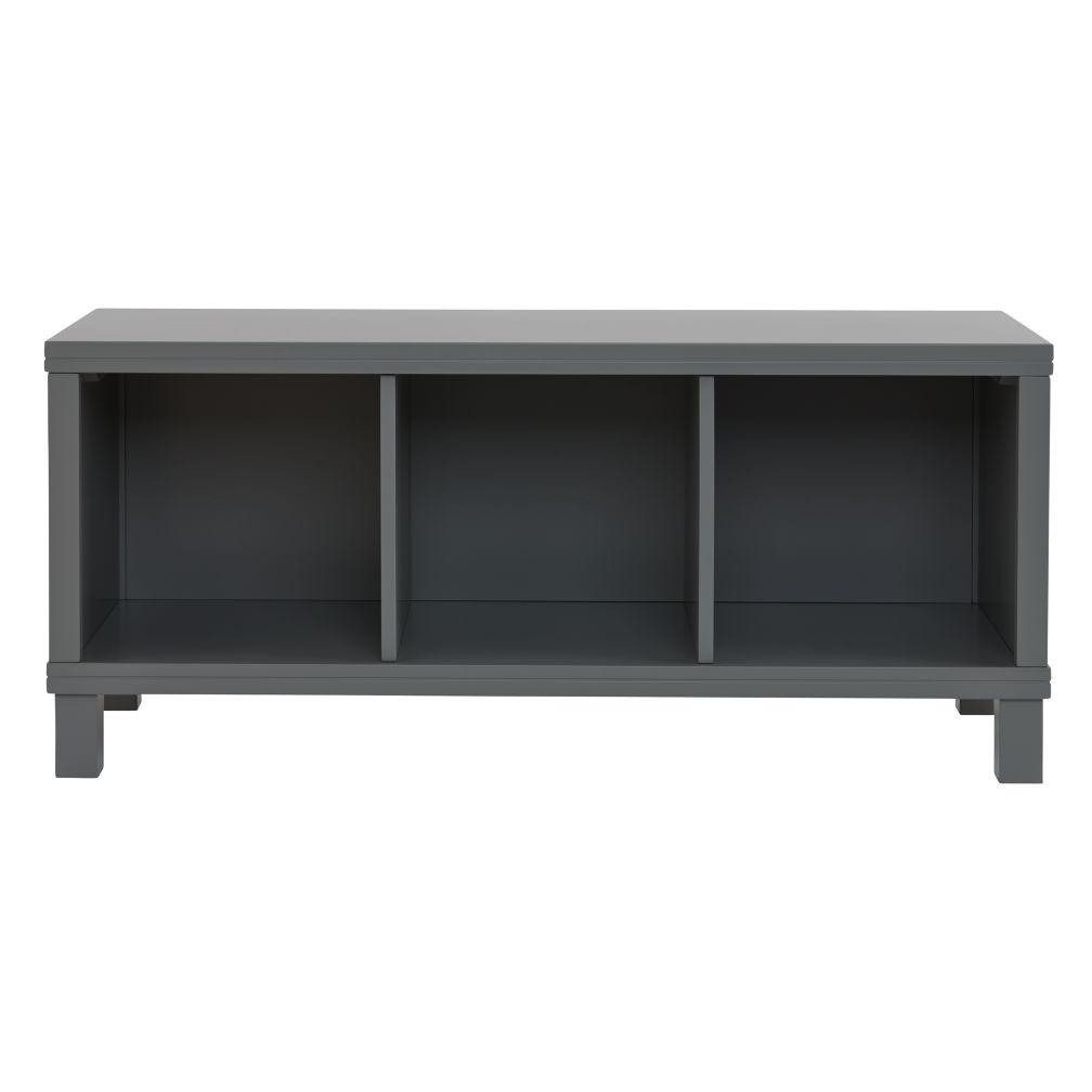 Cubic Bench (Grey, 3-Cube)