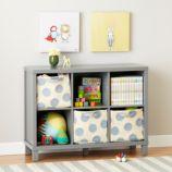 Cubic Bookcase (Grey, 6-Cube)