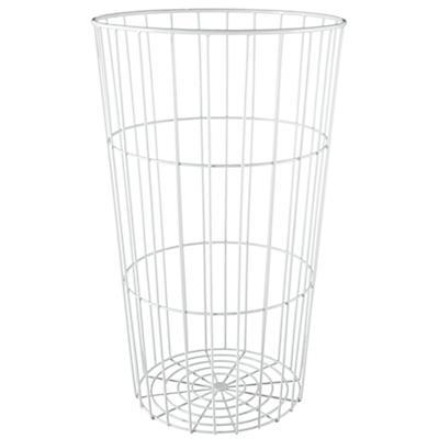 Flea Market Wire Ball Bin (White)