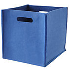 Blue Once More with Felting Cube Bin