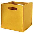 Yellow Once More with Felting Cube Bin
