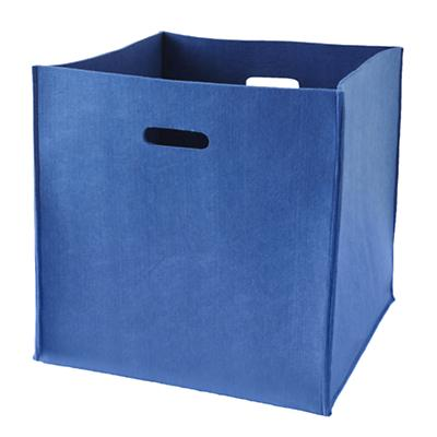 Once More with Felting Floor Bin (Blue)