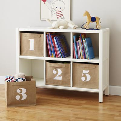 Store By Numbers Cube Bins