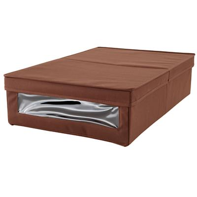 I Think I Canvas Underbed Box (Brown)