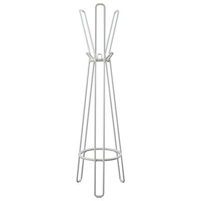 Basic Framework Coat Rack (White)