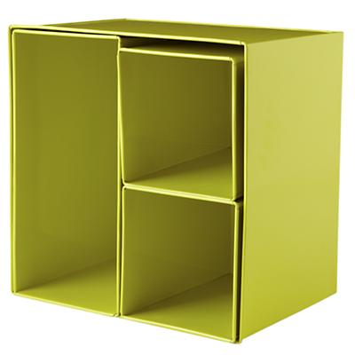 I Could've Bin a Lime Wall Box (Set of 4)
