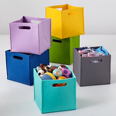 Once More with Felting Cube Bins