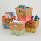 Half Tone Cube Basket