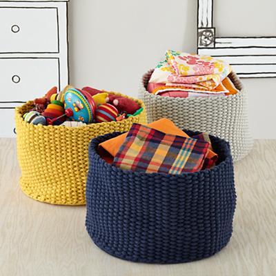 Kneatly Knit Large Storage Bins