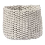 Small Kneatly Knit Rope Bin (Khaki)