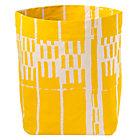 Yellow Organic Landscape Floor Bin