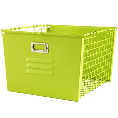 Saved by the Cube Bin Locker Basket (Green)
