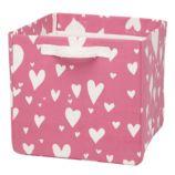 Love Struck Cube Bin (Pink)