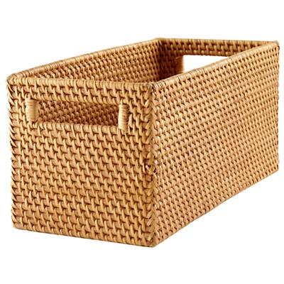 Rattan Small Changer Basket (Honey)
