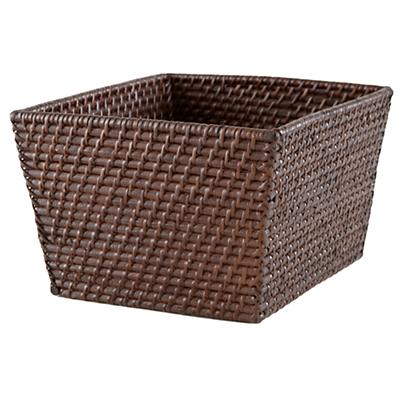 Rattan Shelf Basket (Espresso)