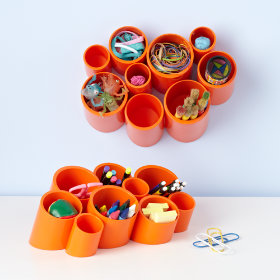 Cubby Cups (Orange)