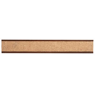 Straight & Narrow Cork Rail (Walnut)