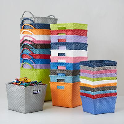 Strapping Storage Bins - Land of Nod