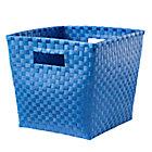 Blue Cube Bin