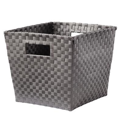 Strapping Cube Bin (Dk. Grey)