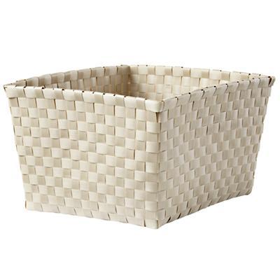 Strapping Shelf Basket (Khaki)
