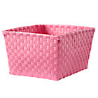 Pink Shelf Basket