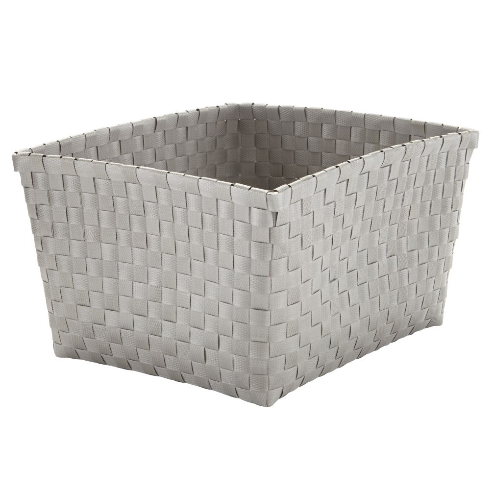 Strapping Shelf Basket (Grey)