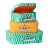 Bon Voyage Suitcase Set (Green)