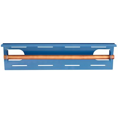 Up Against the Wall Bin Paper Holder (Blue)