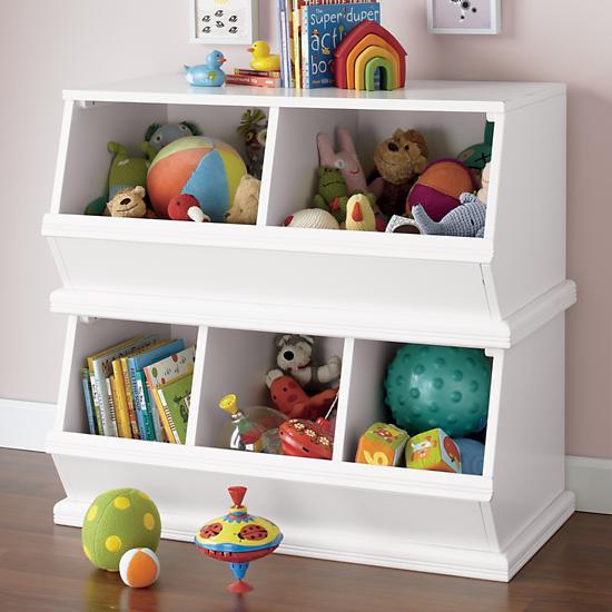 Storagepalooza Kids Stacking Toy Storage The Land Of Nod