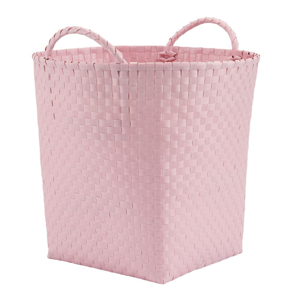 Strapping Floor Bin (Lt. Pink)