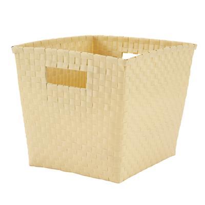 Strapping Cube Bin (Yellow)