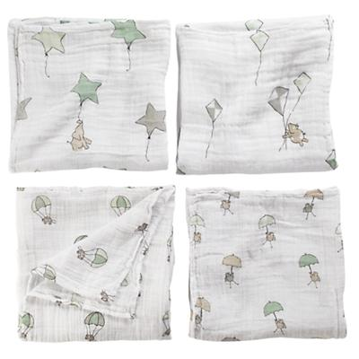 Up, Up and Away Swaddling Blankets