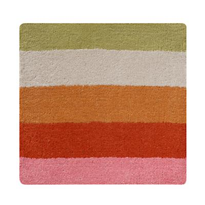 Bold Stripe Bold Stripe Rug Swatch (Pink-Orange)