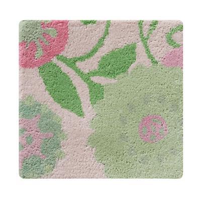 Swatch Pink Hello Mum Floral Rug