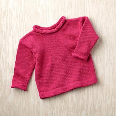 6-9 mos. MJK Knit Sweater (Pink)