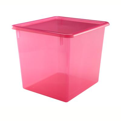 """Red 10"""" Top Box"""
