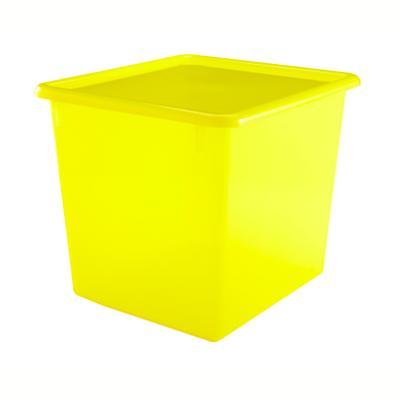 "Yellow 10"" Top Box"