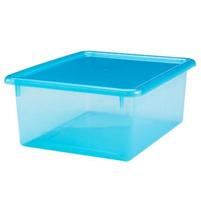 "Blue  5.25"" Top Box"