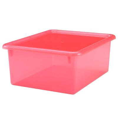 "Red  5.25"" Box Top Box"