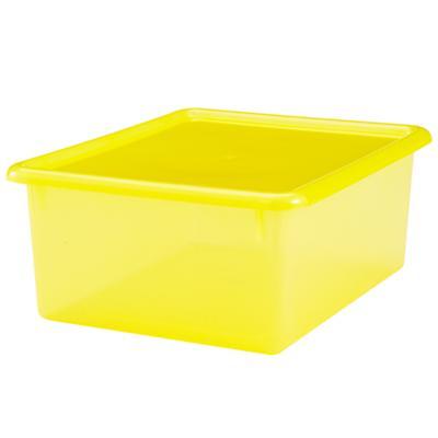 "Yellow  5.25"" Top Box"