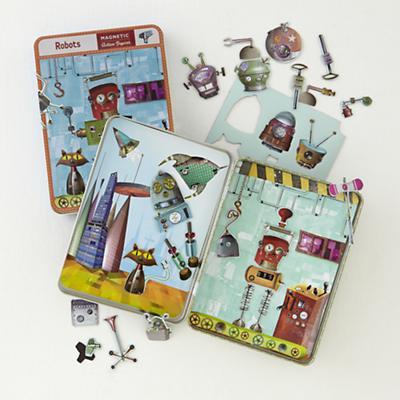 Magnetic Tins (Robots)