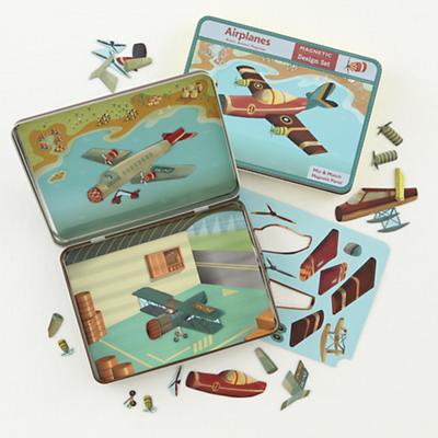Magnetic Tins Airplanes