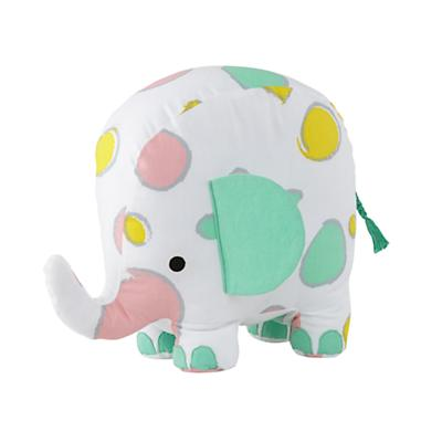 Patterned Plush Pachyderm (Circle)