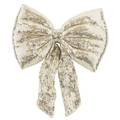 Sequin Bow (Gold)